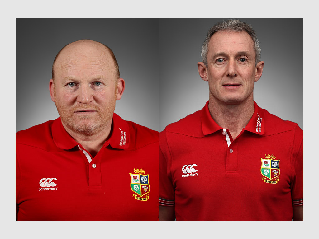 Neil Jenkins Rob Howley British and Irish Lions coaches